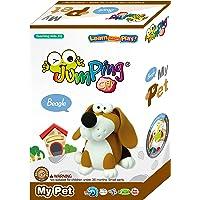 Jumping Clay Sevimli Hayvanlar Seti Beagle Oyun Hamuru