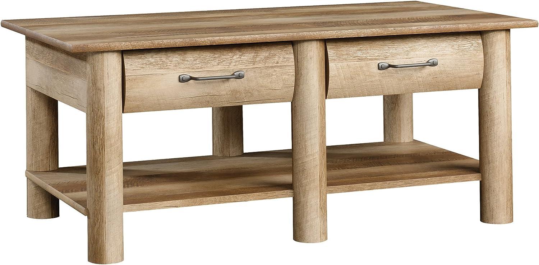 - Amazon.com: Sauder Boone Mountain Coffee Table, Craftsman Oak