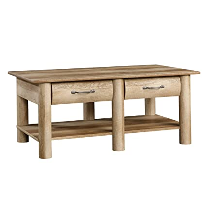 Sauder 416562 Coffee Table, Craftman Oak