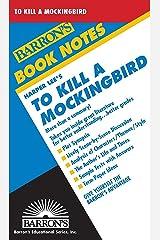 To Kill A Mockingbird (Barron's Book Notes) Paperback