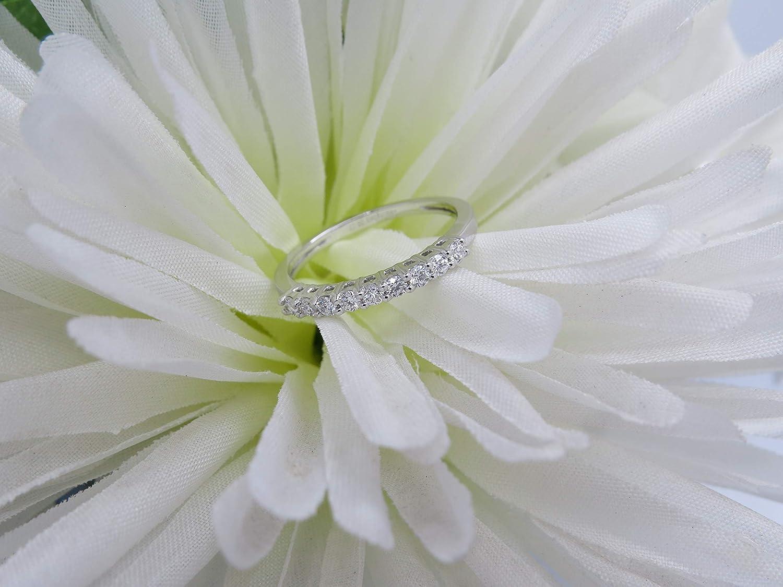Dazzlingrock Collection 0.33 Carat 18K Gold Round Lab Grown Diamond Wedding Guard Band 1//3 CT ctw