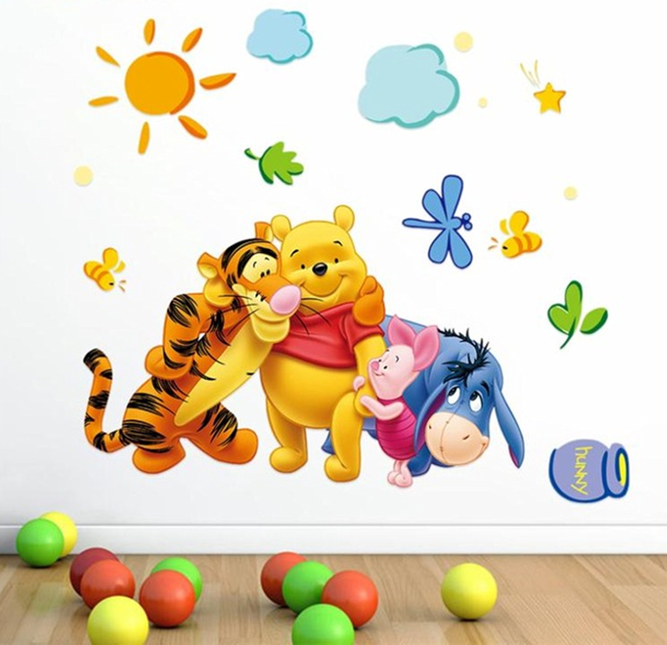 Amazon Wall Sticker Decal Winnie The Pooh And Tiger Kids