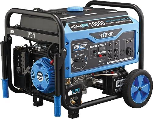 Pulsar PG10000B16 Portable Dual Fuel Generator