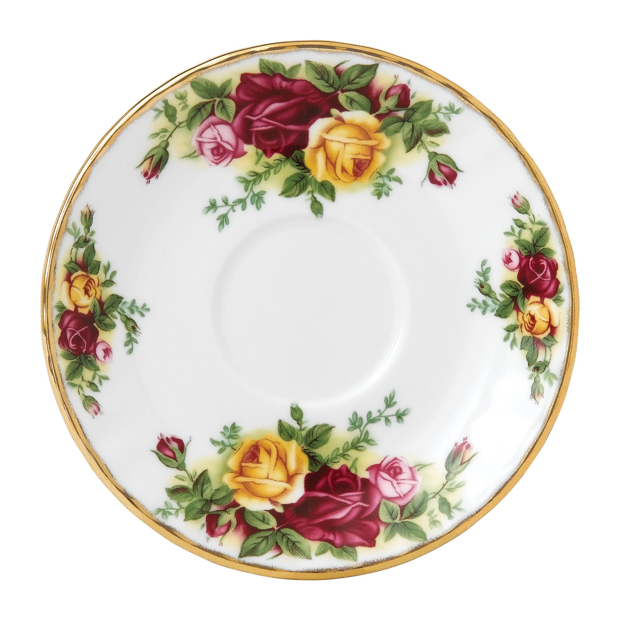 Royal Albert Old Country Roses 5-inch Espresso Saucer