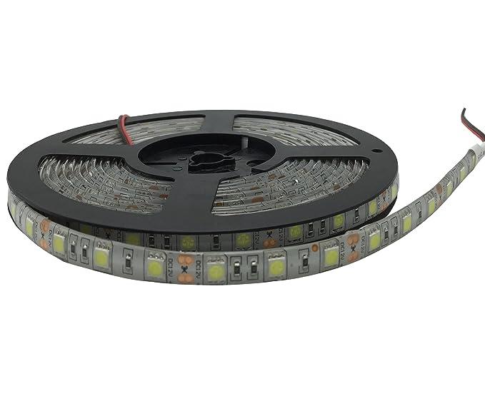YXH® Striscia LED (5m) bianco freddo 12v illuminazione led (Cucina ...
