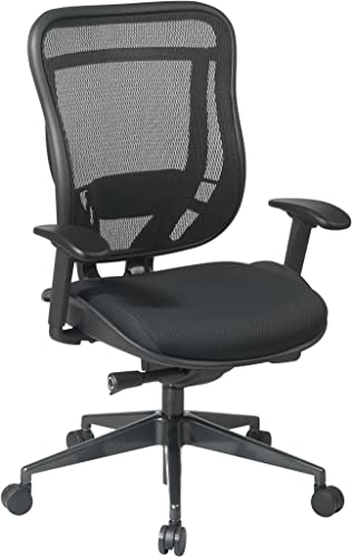 Space Seating Breathable Mesh High Back Chair