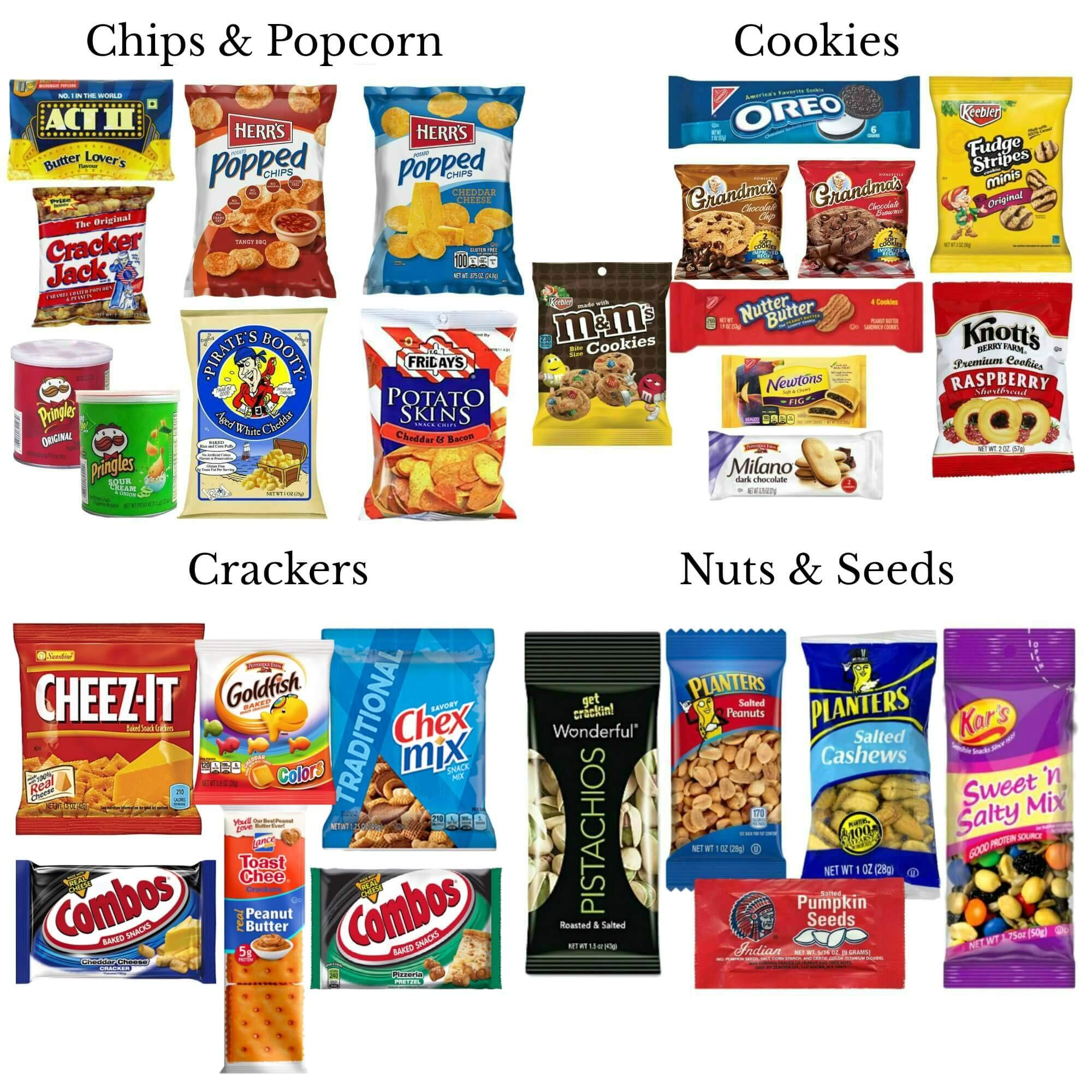 Deluxe 130 Count Snack Food Variety Pack | Office Snacks or School Lunchbox Snacks |10 Pounds of Sweet and Salty Options by Perpetual Motion Enterprises, Inc. (Image #4)