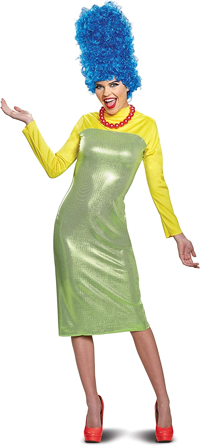 Disguise Women's New Marge Deluxe Adult Costume