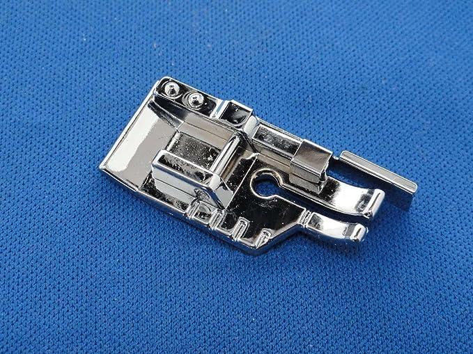 Prensatelas para máquina de coser acolchada con guía de borde - Se adapta a todos los vástagos bajos: Amazon.es: Hogar
