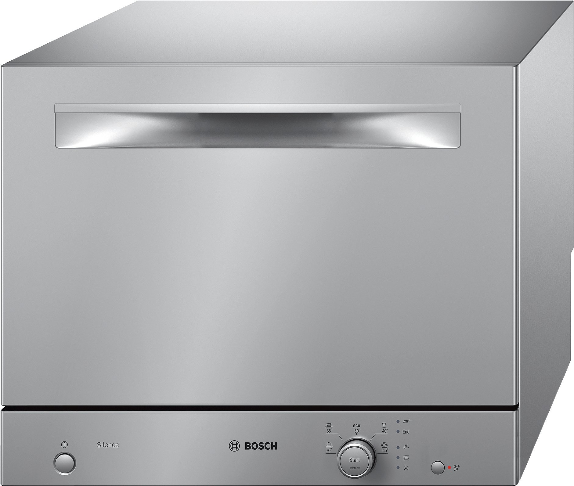 Bosch Serie 2 Table Top Dishwasher - Freestanding - SKS51E28EU - Silver [Energy Class A+]
