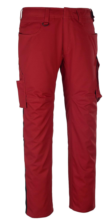 Mascot 12079-203-0209-82C48Dortmund Trousers L82cm//C48 Red//Black