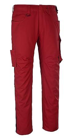 color rojo y negro Pantalones de deporte 82 cm Mascot 12079-203-0209-82C64