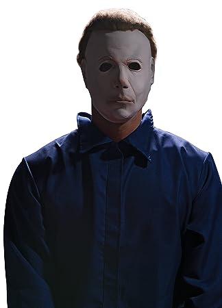 Rubies Máscara de Michael Myers con Pelo de la película Halloween, para Adultos (Talla única)