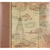 MCS MBI 860110 Álbum de recortes de viaje clásico de 13,5 x 12,5 cm con páginas de 12 x 12 pulgadas