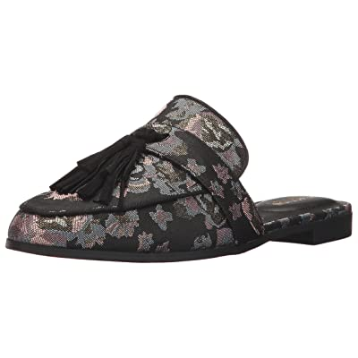 Kenneth Cole REACTION Women's Rain Down Flat Mule with Tassel Detail Fabric   Mules & Clogs
