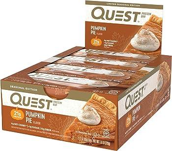 12-Count Quest Nutrition Pumpkin Pie Protein Bar