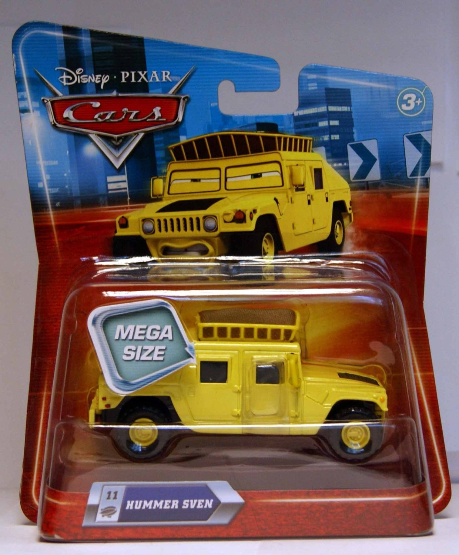 Disney/Pixar Cars Race O Rama Series Mega Size Sven (Hummer) 1:55 Scale
