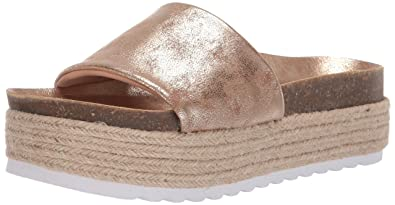 dd651fbee16 Dirty Laundry by Chinese Laundry Women s Pippa Espadrille Wedge Sandal Gold  Shimmer 5.5 ...