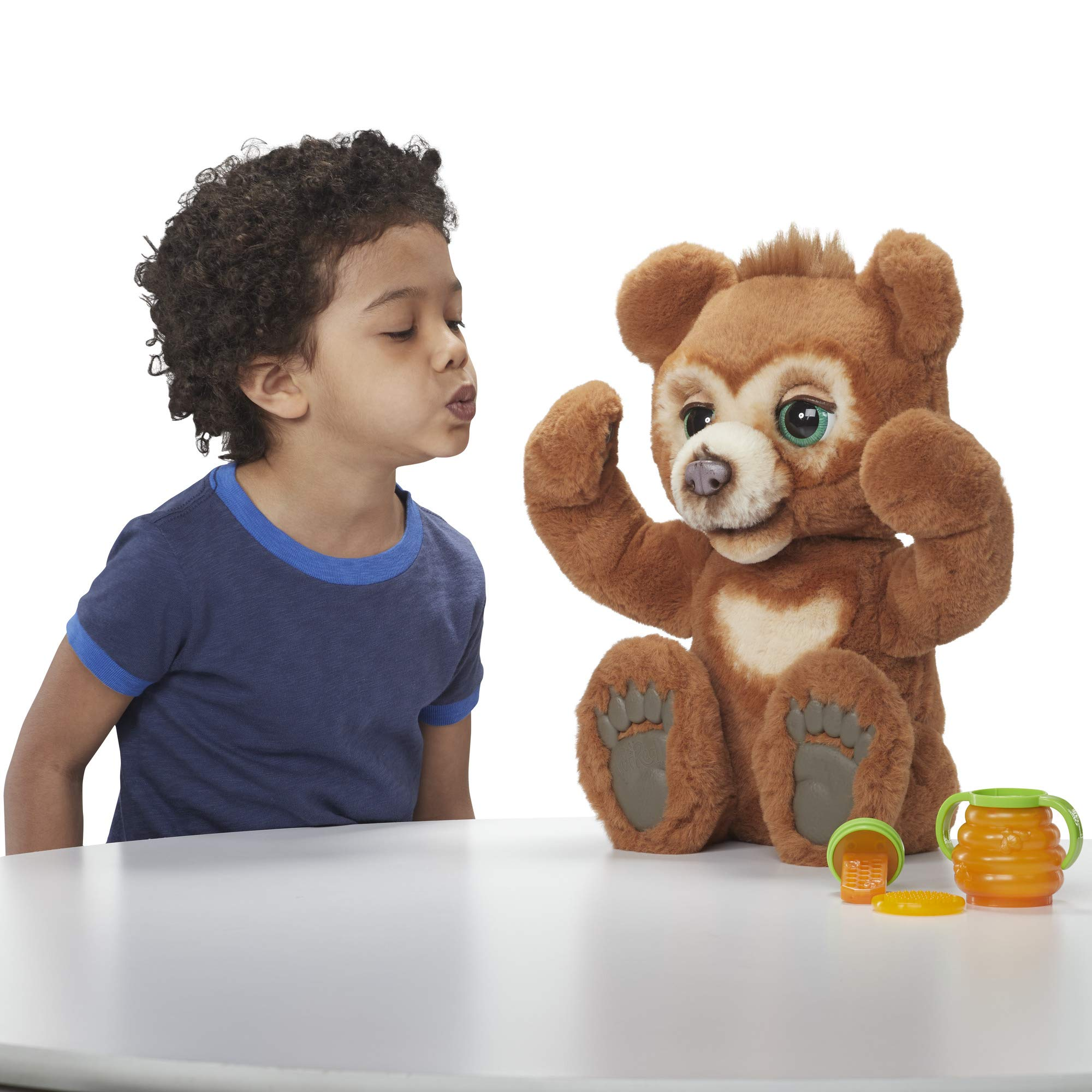 FurReal Cubby, The Curious Bear Interactive Plush Toy, Ages 4 and Up by FurReal (Image #4)