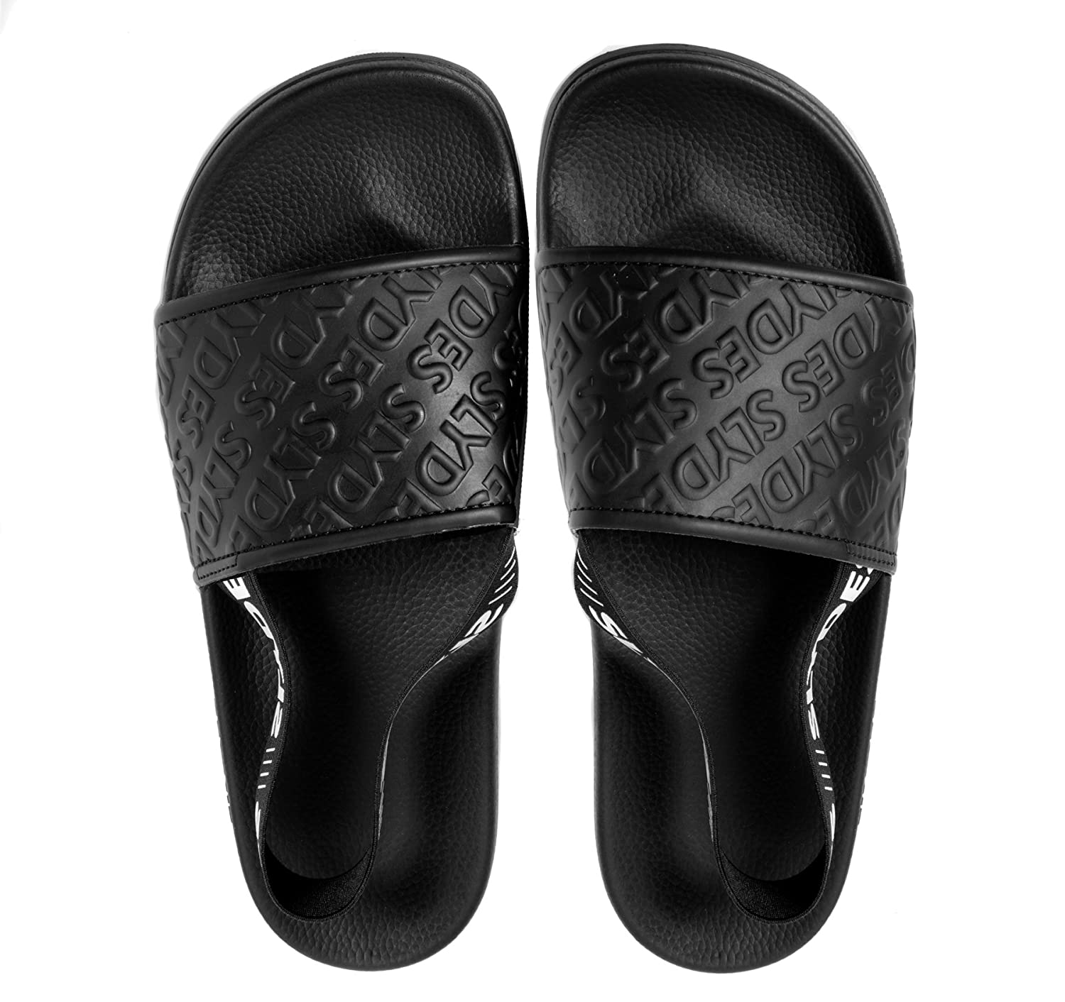 Slydes Roamer Black Men's Slider Sandals B079M62WRJ 8 D(M) US