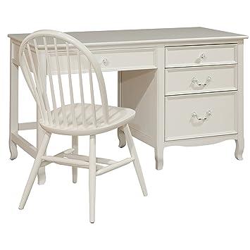 Amazoncom Bolton Furniture Emma Large Pedestal Desk with Four
