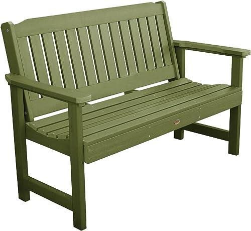 highwood AD-BENW1-SGE Lehigh Garden Bench, 5 Feet, Dried Sage