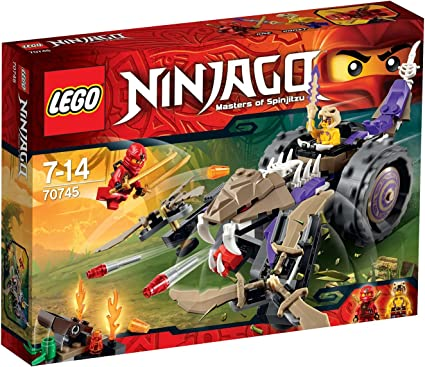Amazon.com: Lego Ninja Go Ana Con crusher 70745: Toys & Games