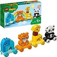 LEGO 10955 DUPLO Mijn Eerste Dierentrein met een Olifant, Tijger, Panda en Giraf, Bouwset voor Peuters van 1.5 Jaar en…