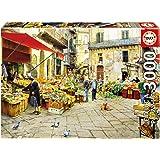 Educa Borrás - La Vucciria Market, Palermo, puzzle de 3000 piezas (16780)