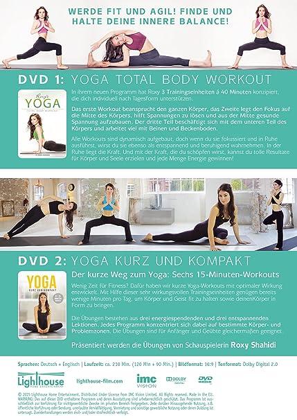 Roxys Yoga - 2-DVD-Sonderedtion: Zwei komplette Yoga ...