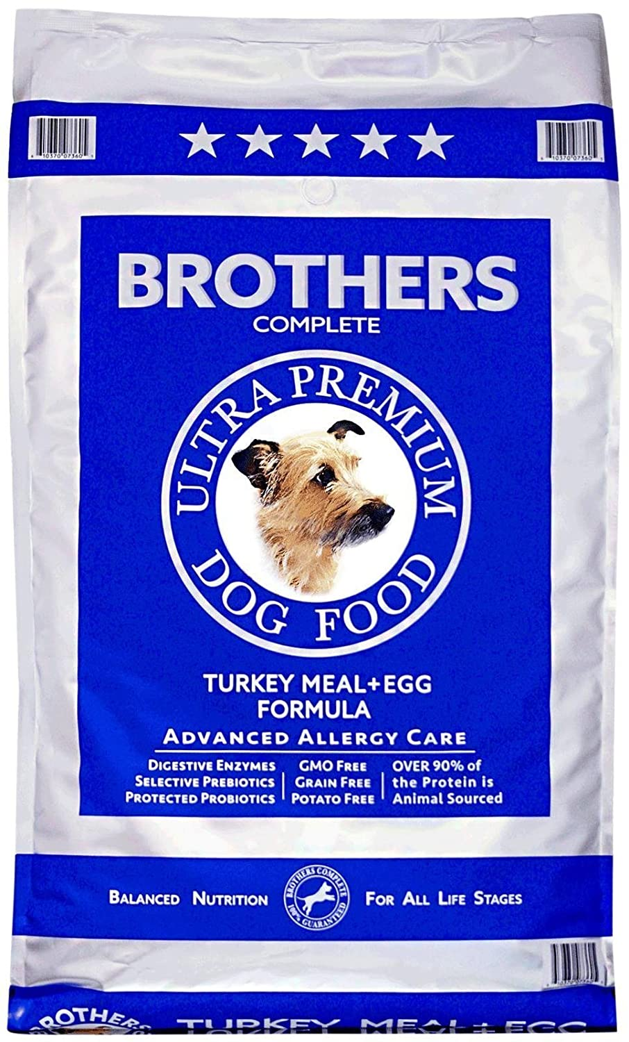 4. Brothers Complete Turkey Meal & Egg Formula Advanced Allergy Care Grain-Free Dry Dog Food