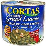 Cortas - Stuffed Grape Leaves, 4.4 Lb (2 kg) - 75 pieces   Premium, Large (70 oz)