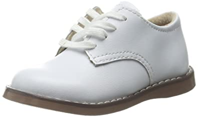 e75c8d24dece8 FOOTMATES Boy's Willy Laceup Oxford White - 8800/1 Little Kid M/W
