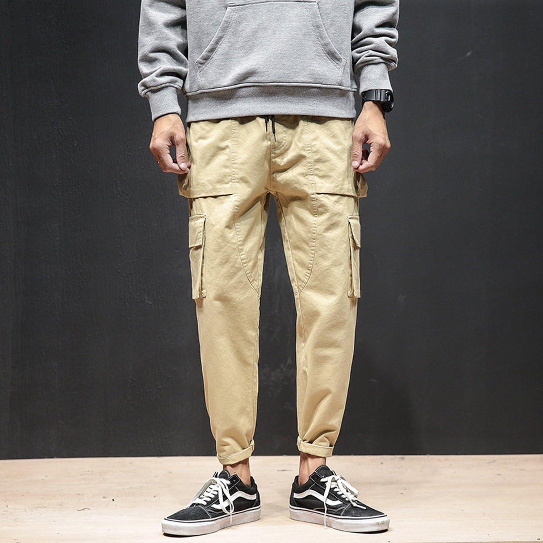 Rising ON Men Sweatpants,Cargo Work Trousers Jogger Basic Sportwear Jogging Outdoor Pants