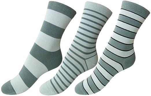 3 opinioni per Loonysocks, 3 paia di calze in cotone assortite da donna/ragazza, nelle tonalità