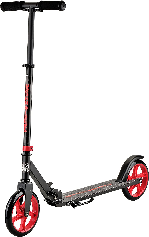 Commuter Prelim (Black) Adult Kick Scooter | Adjustable Handlebar | URBAN RIDERS USA