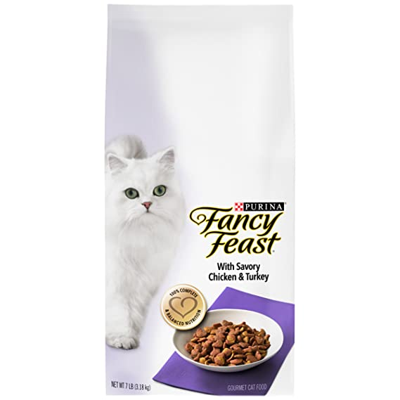 2. Purina Fancy Feast Dry Cat Food - Best for Overall Health
