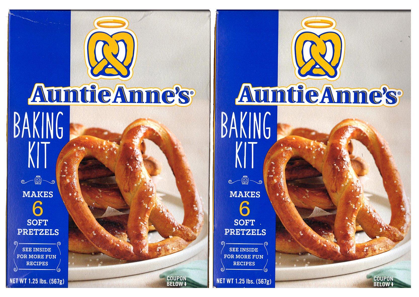 Auntie Annes, Make Your Own Pretzel Kit, 1.25 Pound Kit (Pack of 2)