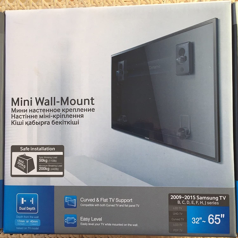 yibyone® wmn450 m Curved slim soporte de pared para Samsung LCD LED TV 32