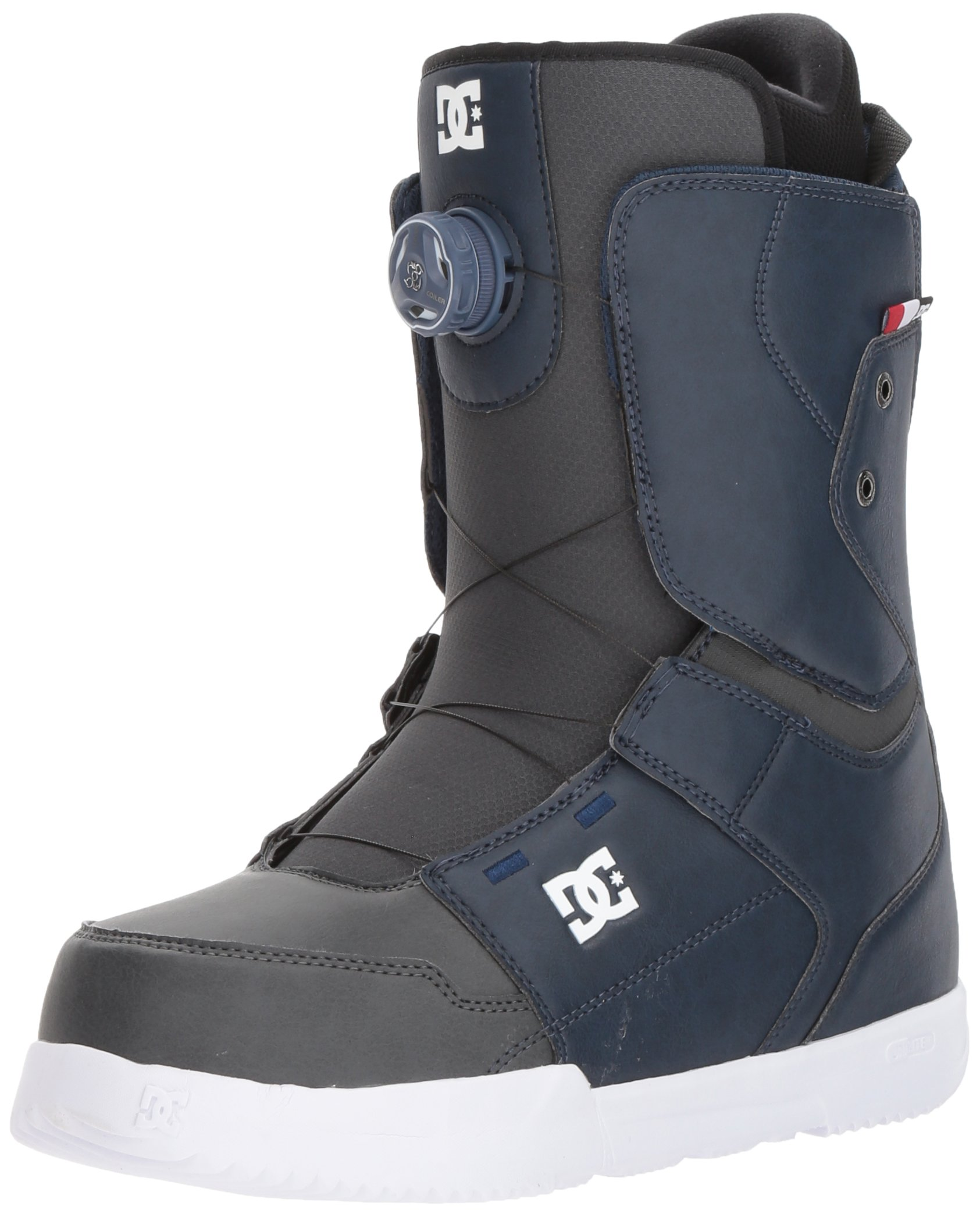 DC Men's Scout Boa Snowboard Boots, Insignia Blue, 7.5 by DC (Image #1)