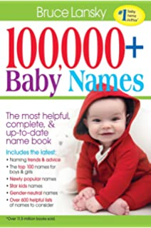 100000 BABY NAMESThe Most Complete Baby Name Book