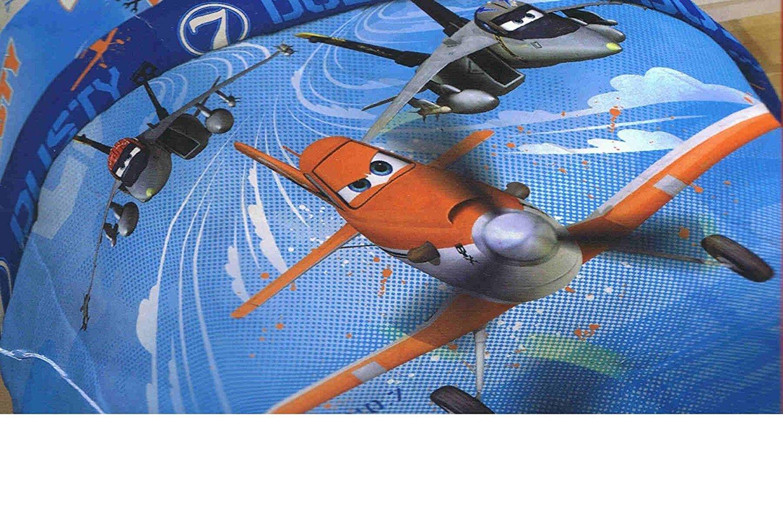Disney Pixar Planes Comforter, Twin, Blue J Franco 28405