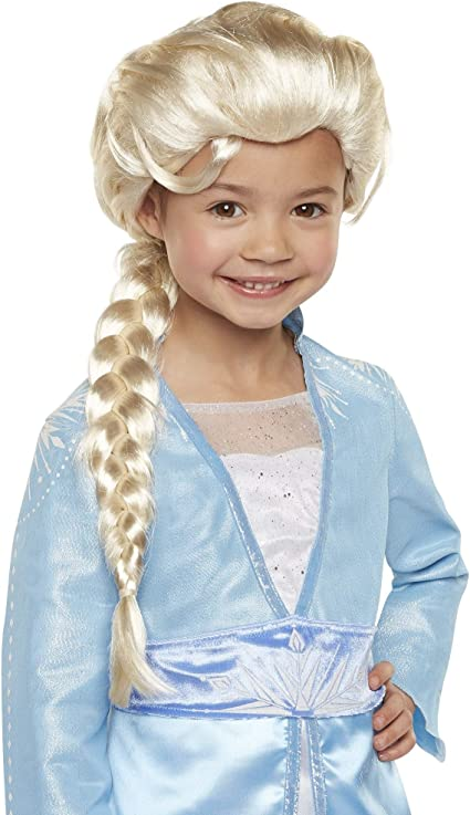Frozen Disney Frozen Elsa Child Wig Princess Dress Up Halloween