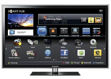 SAMSUNG UE40D6200 3D LED Smart TV: Amazon co uk: Electronics