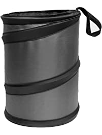 FH Group Car Garbage Trash Can (Collapsible and Compact Size Large)