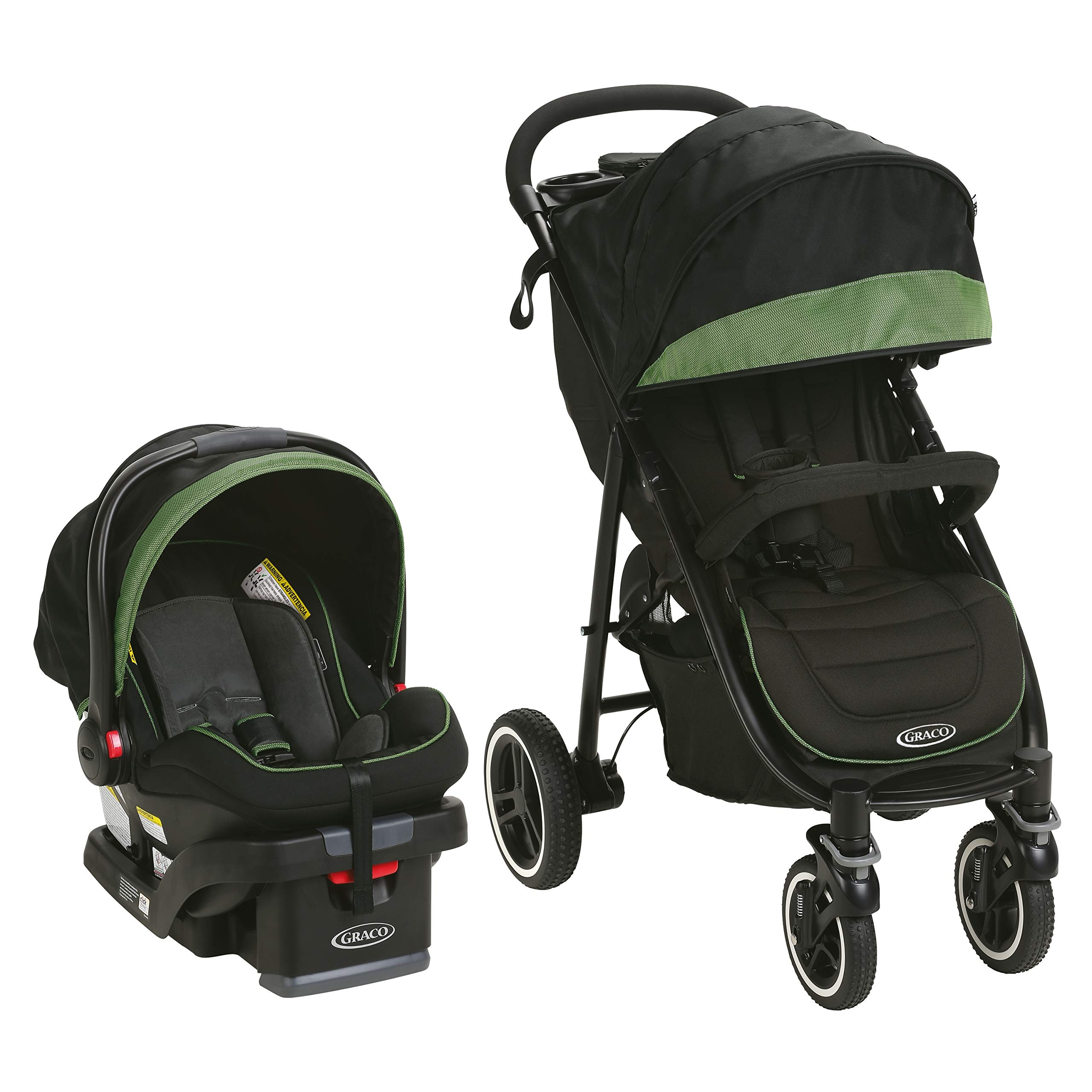 Graco Aire4 XT Travel System, Emory by Graco (Image #3)
