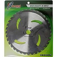 Kawapower KW042E Disco Cuchilla de Widia con 36 Puntas para desbrozadora