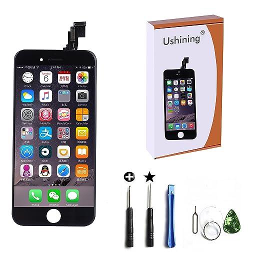 12 opinioni per Ushining Per iPhone 6 plus Touch Screen Vetro Schermo + LCD Display Assemblato