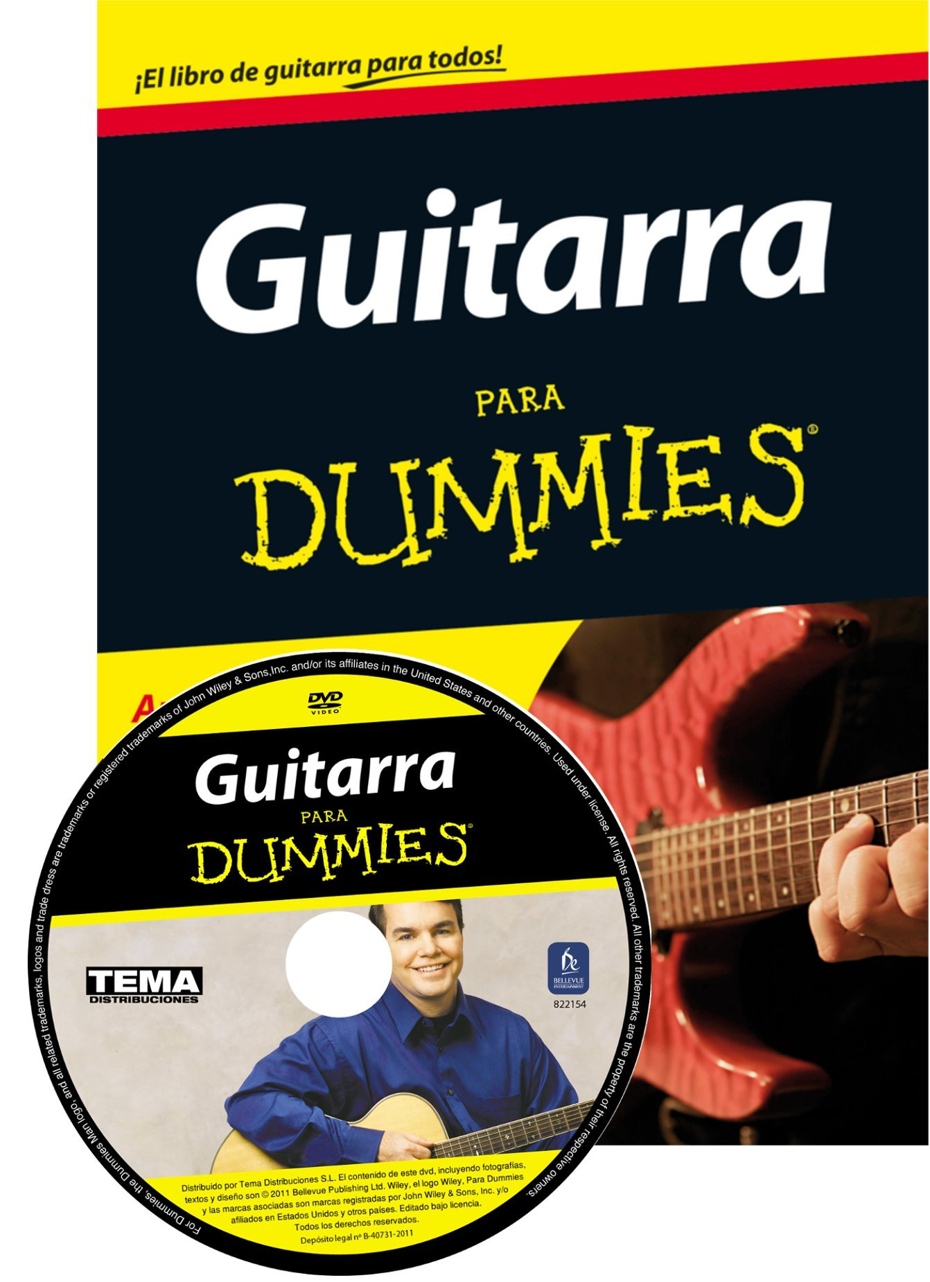 Guitarra para Dummies (Spanish) Paperback – September 4, 2012