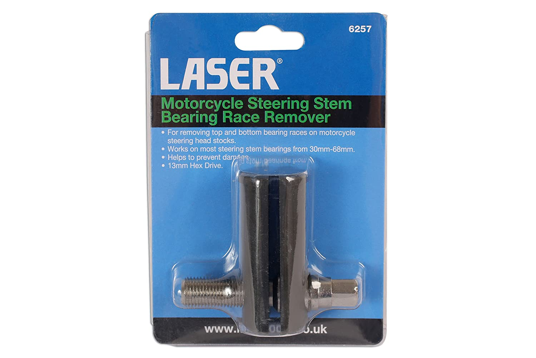 Laser 6257 Motorcycle Steering Stem Bearing Race Remover